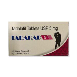 Tadarad 5mg Tadalafil Tablets