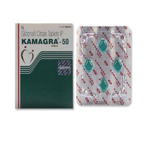 Kamagra Gold 50mg Sildenafil Tablets