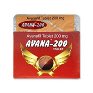 Avana 200mg Avanafil Tablets
