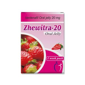 Zhewitra 20 mg Vardenafil Oral Jelly