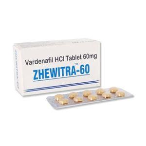 Zhewitra 60mg Vardenafil Tablets