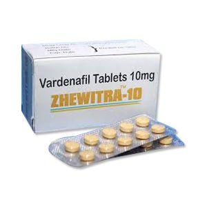Zhewitra 10mg Vardenafil Tablets