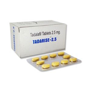 Tadarise 2.5mg Tadalafil Tablets