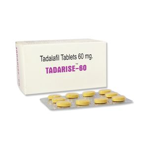 Tadarise 60mg Tadalafil Tablets