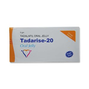 Tadarise 20mg Tadalafil Oral Jelly