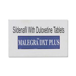 Malegra Dxt Plus (Sildenafil + Duloxetine) Tablets