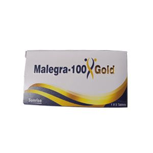 Malegra Gold 100mg Sildenafil Tablets