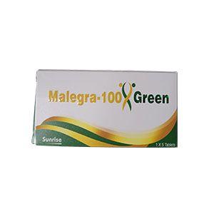 Malegra绿色100mg西地那非片