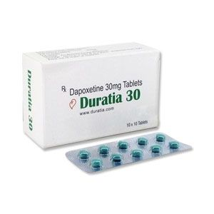 Duratia 30mg Dapoxetine Tablets