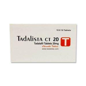Tadalista CT 20mg Tadalafil Tablets