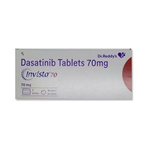 Invista 70 mg Dasatinib Tablet