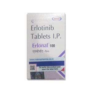 Erlonat 100 mg Erlotinib Tablet