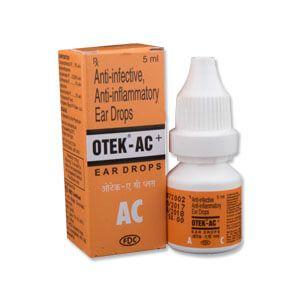 OTEK AC Plus Ear Drops