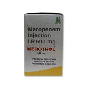 Merotrol 500mg Meropenem Injection