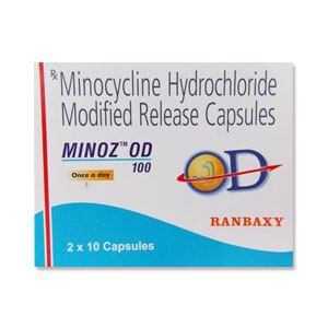 Minoz OD Minocycline 100mg Tablet