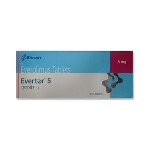 Evertor 5 mg Everolimus Tablets