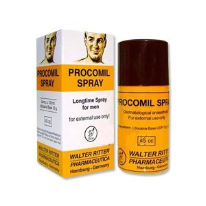 Procomil 10gm Lidocaine Spray