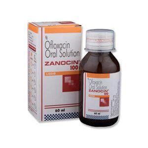 Zanocin 100mg/5ml Syrup