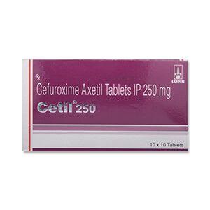 Cetil 250mg Tablet