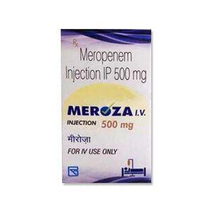 Meroza I.V Meropenem 500mg Injection