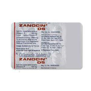 Zanocin DS 400mg Tablet