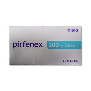 Pirfenex 200 mg  Pirfenidone Tablet