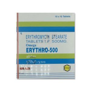 ERYTHRO 500 MG TABLET