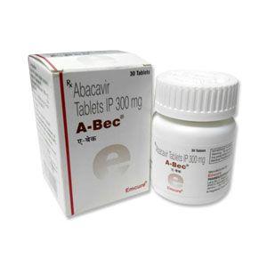 A-Bec 300 mg Abacavir Tablet