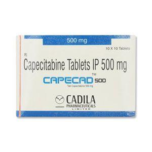Capecad 500 mg Capecitabine Tablets