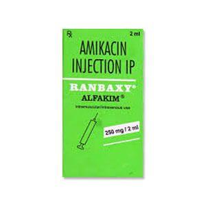 Alfakim 250mg阿米卡星注射液