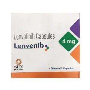 Lenvenib 4 mg Lenvatinib Capsules