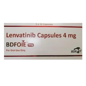 Bdfoie 4 mg Lenvatinib Capsules