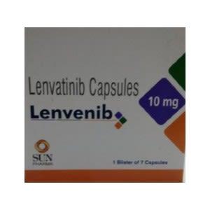 Lenvenib 10 mg Lenvatinib Capsules