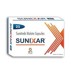 Sunixar 25 mg Sunitinib Capsule