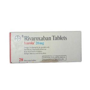 Ixarola 20 mg Rivaroxaban Tablet