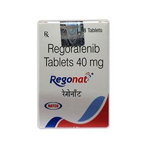 Regonat 40 mg Regorafenib Tablet