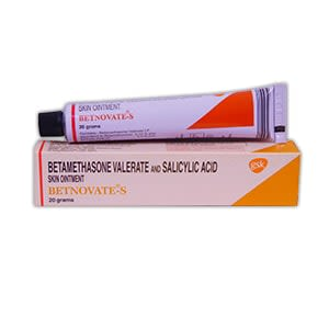 Betnovate-S (Betamethasone + Salicylic Acid) Ointment