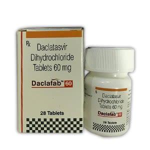 Daclafab 60mg Daclatasvir Tablet