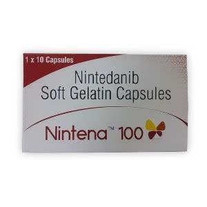 Nintena 100mg Nintedanib Capsule