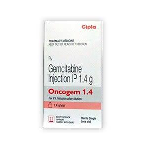 Oncogem 1.4gm Gemcitabine Injection