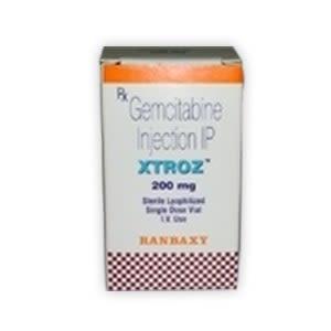 Xtroz 200mg Gemcitabine Injection