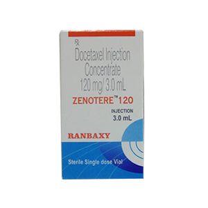Zenotere 120mg Docetaxel Injection
