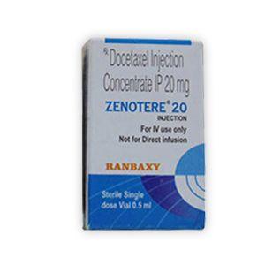 Zenotere 20mg Docetaxel Injection