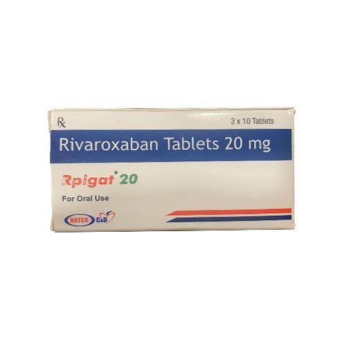 Rpigat 20mg Rivaroxaban Tablet