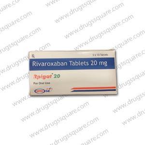 Rpigat Rivaroxaban 20mg Tablet