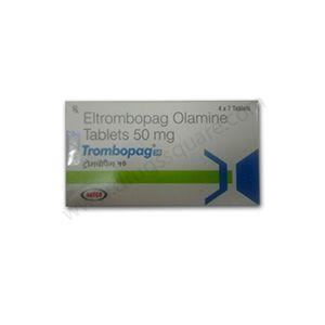 Trombopag Eltrombopag 50 mg Tablet