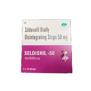 Seldishil-50 Sildenafil 50mg Orally Disintegrating Strips