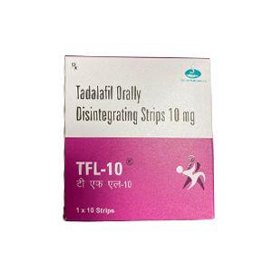 Tfl-10 Tadalafil 10mg Orally Disintegrating Strips