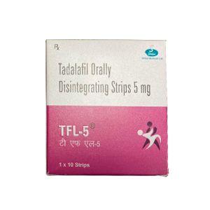 Tfl-5 Tadalafil 5mg Orally Disintegrating Strips