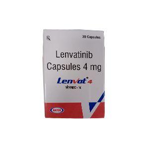 Lenvat 4 mg Lenvatinib Capsule